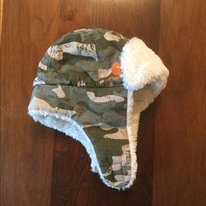 Carhartt camo winter hat